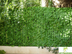 HAIE ARTIFICIELLE FEUILLES 1,50mx3m [SIMPLE FACE]/ JET7GARDEN